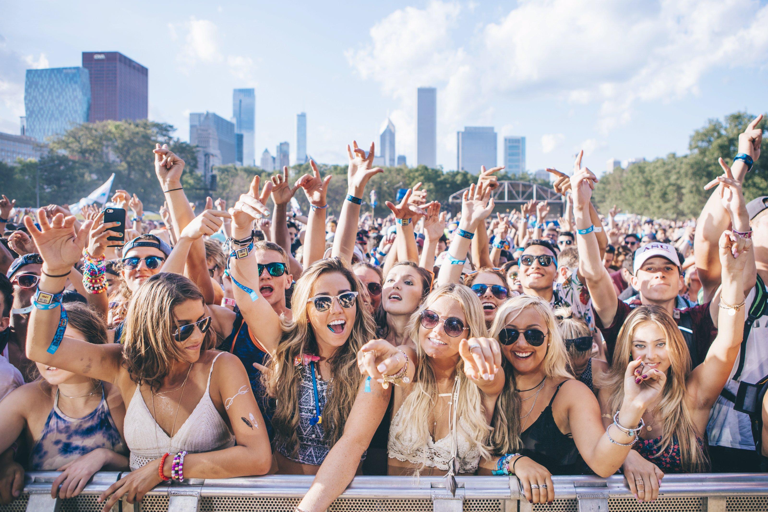 Lollapalooza 2015 Season of Festivals Red Bull Content Pool