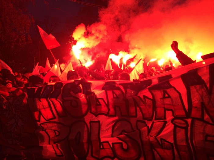 Marsz Wolnej Polski w Krakowie