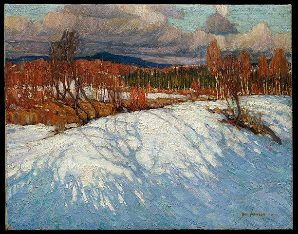 Tom Thomson, In Algonquin Park, Winter 1914–15, McMichael Canadian Art Collection, Kleinburg