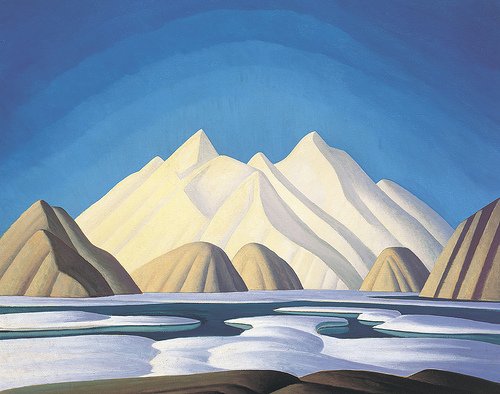 Lawren S. Harris, Baffin Island, 1931, The Thomson Collection at the Art Gallery of Ontario
